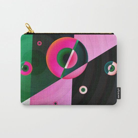 Muticolored abstract 2016 / 040 Carry-All Pouch