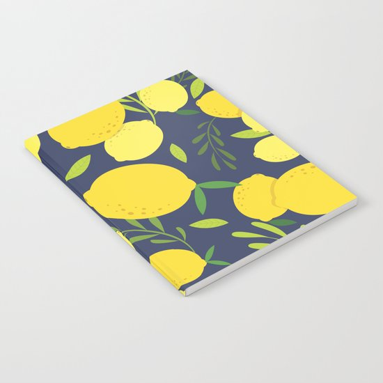 Freshly Picked Lemon Notebook