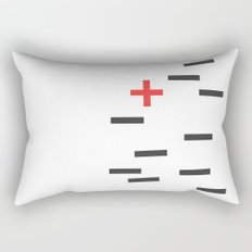 Opposite II Rectangular Pillow
