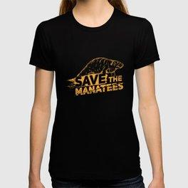 Save The Manatees I - Nature & Wildlife Gift T-shirt