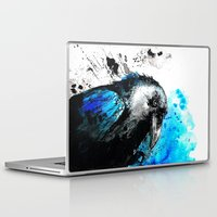 raven Laptop & iPad Skins featuring raven by Katja Main