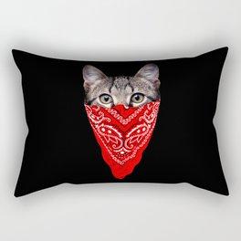 Gangster Cat Rectangular Pillow