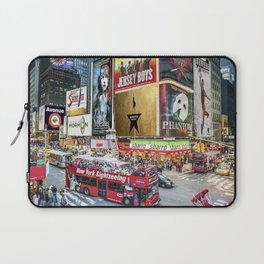 Times Square II Laptop Sleeve