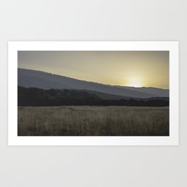 A New Day. Art Print