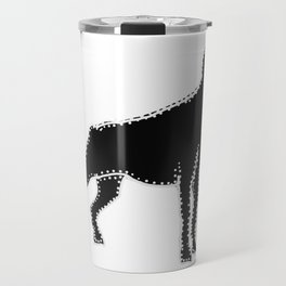 I have Connected the Doberman Pinscher Doggy Dots! Travel Mug