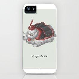 Carpet Bumm iPhone Case