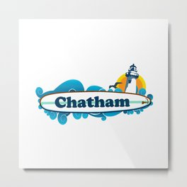Chatham Ligthhouse  Metal Print