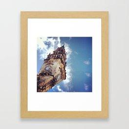 Clock Tower, Sheffield Framed Art Print