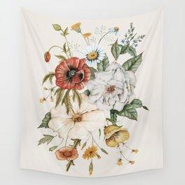 Wildflower Bouquet Wandbehang