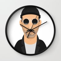 leon Wall Clocks featuring Leon by Capitoni