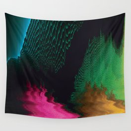 Dreamscape - Glitch Art Wall Tapestry
