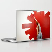 redhead Laptop & iPad Skins featuring Redhead by Twilight Productions