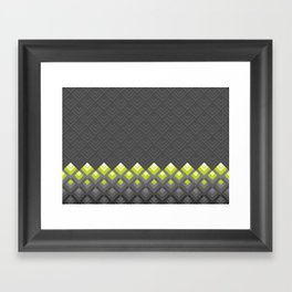Rectangles Framed Art Print