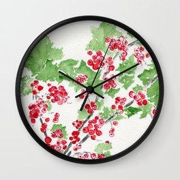 Currant Events Wall Clock
