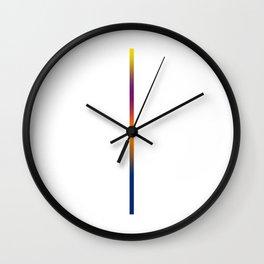 Ultra minimalist line art Wall Clock