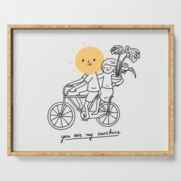 You are my sunshine 2 Serving Tray