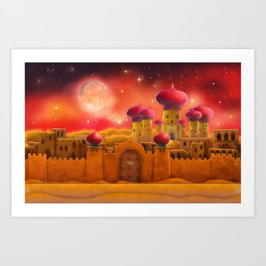 Aladdin castle Art Print