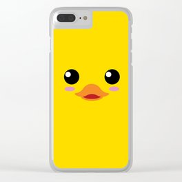 Baby Duc. Kids & Puppies Clear iPhone Case