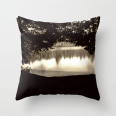 Passing Travelers Throw Pillow