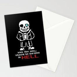 sans HELL Stationery Cards