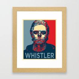 Tate Langdon Whistle Framed Art Print