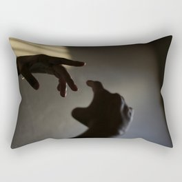 Come closer Rectangular Pillow