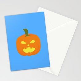 Halloween Pumpkin light Stationery Cards