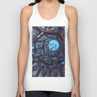 arabic Tank Tops featuring arabic fractal by erosione
