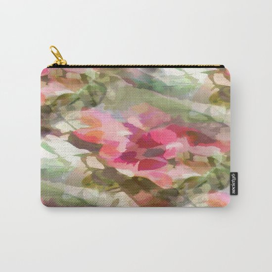 Floral Design Carry-All Pouch
