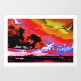 Boat's Requiem Art Print