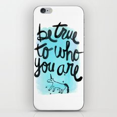 Be True iPhone & iPod Skin