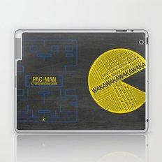 Pac-Man Typography Laptop & iPad Skin
