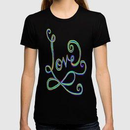 Rainbow Love Infinity Sign T-shirt