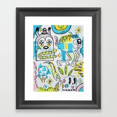 Shape Shifters Framed Art Print