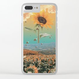sunflowerzzz Clear iPhone Case