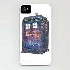 Doctor Who Galaxy Tardis iPhone (4, 4s) Slim Case
