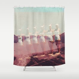 Just a Fading Memory Shower Curtain