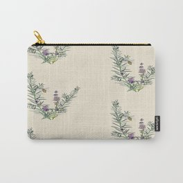 Lavender and bees  Carry-All Pouch