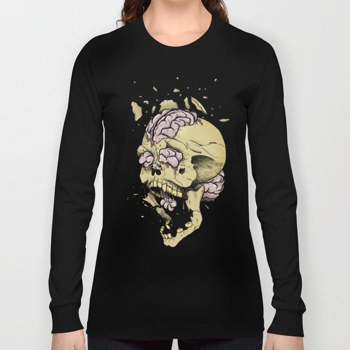 Brain Overload Explosion Long Sleeve T-shirt