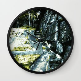 Anamorphic Stairs - Japan Wall Clock