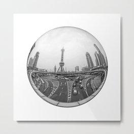 Circular Fisheye #4 Metal Print