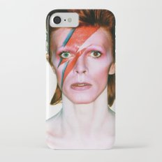 David Bowie Portrait Slim Case iPhone 7