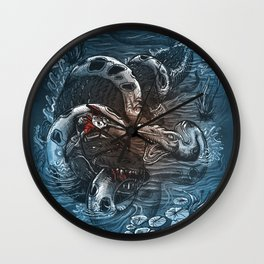 Marsh Madness  Wall Clock