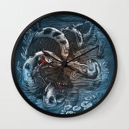 Marsh Madness  Wall Clock