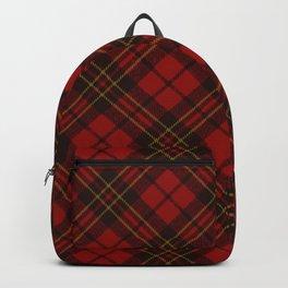 Adorable Red Christmas tartan Backpack