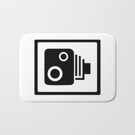 Speed Camera Bath Mat