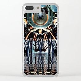 visitant Clear iPhone Case