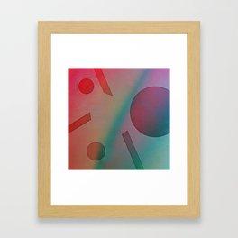 NO EFFORT Framed Art Print