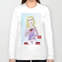 coca cola Long Sleeve T-shirts featuring Coca Cola by The Bravo Sisters Art