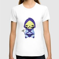skeletor T-shirts featuring A Boy - Skeletor by Christophe Chiozzi